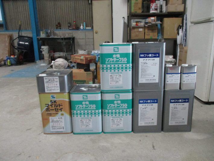 ソフトサーSG 3缶 NKフッ素コートアクア2 2セット(SR163) マイルドボーセイ 1セット