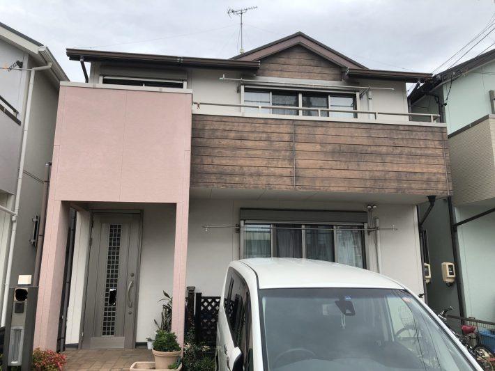 春日井市勝川町西 T様邸 外壁・屋根塗装