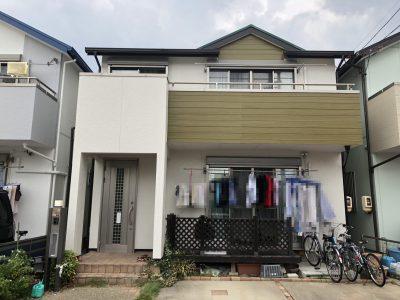 春日井市勝川町西T様邸の外壁・屋根塗装のご紹介です。 築13年で色褪せや外壁クラックなどがあり、そ...