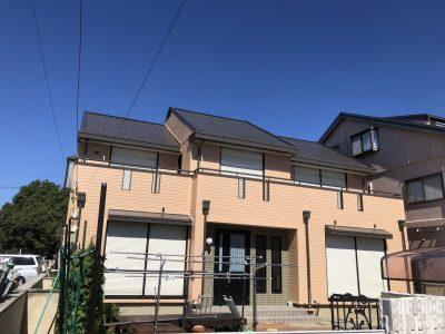 春日井市高山町M様邸の外壁・屋根塗装のご紹介です。 築30年で18年前に1度塗替えされており、今回は2回...