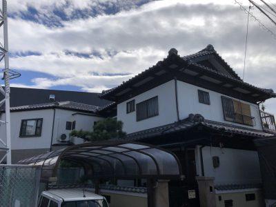 春日井市勝川町西 I様邸 外壁無機塗装ご紹介です。 築30年で2回目の塗り替えになります。外壁が色...