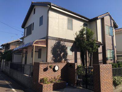 春日井市八田町Y様邸の外壁塗装のご紹介です。 築26年で16年前に1度塗替えされており今回は、2回目の...