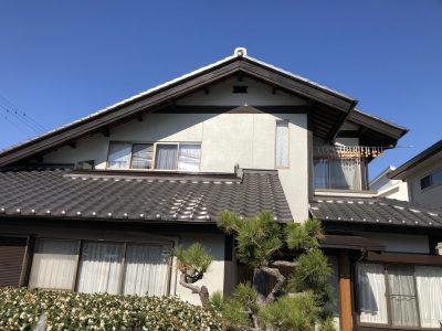 春日井市東野町西町 N様邸 外壁塗装ご紹介です。 築30年で2回目の塗り替えになります。工事期間中...