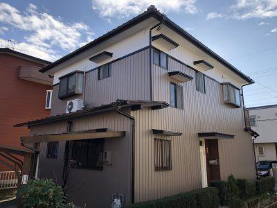 春日井市高山町 I様邸 外壁塗装ご紹介です。 築26年で初めての塗り替えになります。当社の事務所か...