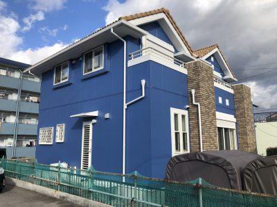 名古屋市北区 O様邸の外壁塗装のご紹介です。 築11年で色褪せ外壁クラックなどがあり、そろそろ塗り替...