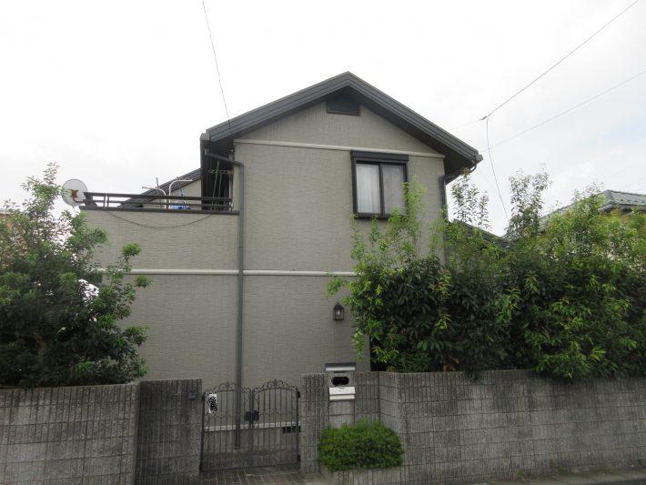 春日井市六軒屋町西 S様邸 外壁・屋根塗装工事