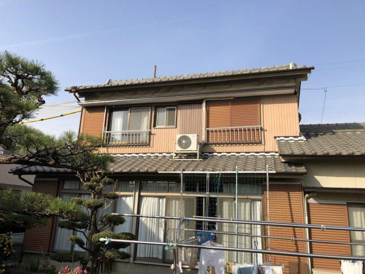 春日井市知多町 N様邸 2階部分外壁塗装