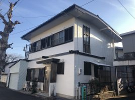 春日井市 勝川新町 K様邸 外壁・屋根塗装工事の塗装・塗り替え施工実績はこちら
