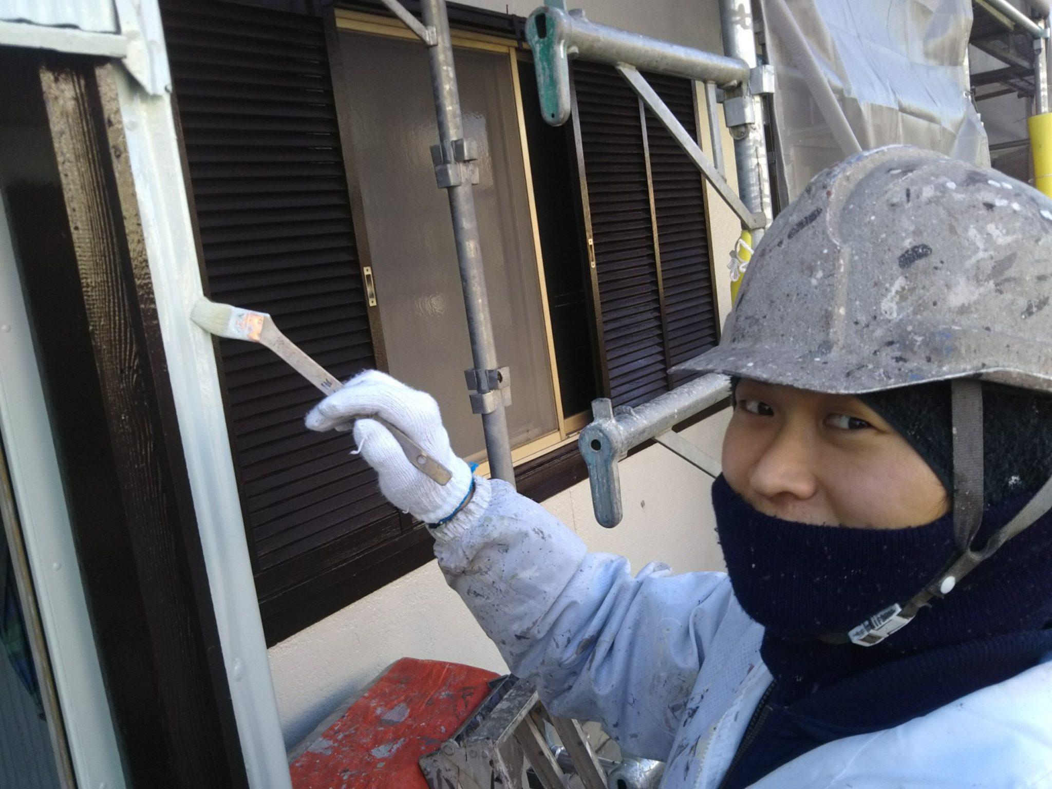梅雨時期の外壁塗装