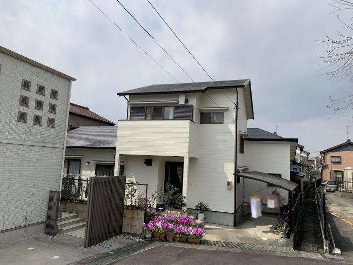 春日井市下屋敷町 I様邸 外壁・屋根塗装・シロアリ予防工事