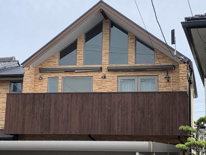春日井市如意申町 H様邸 外壁・屋根塗装・ベランダ防水工事