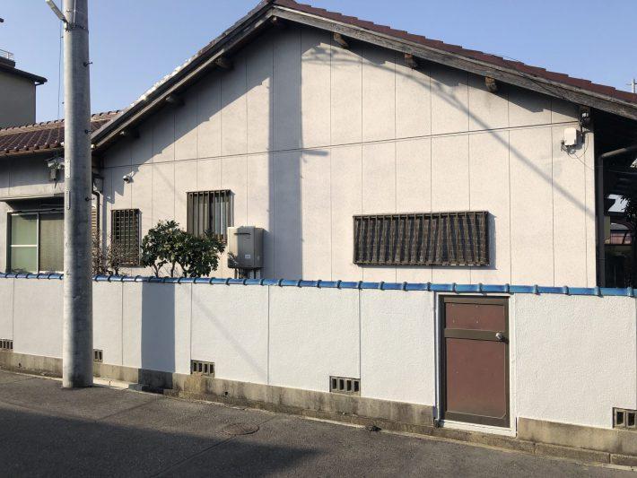 春日井市勝川新町 H様邸 外壁塗装工事