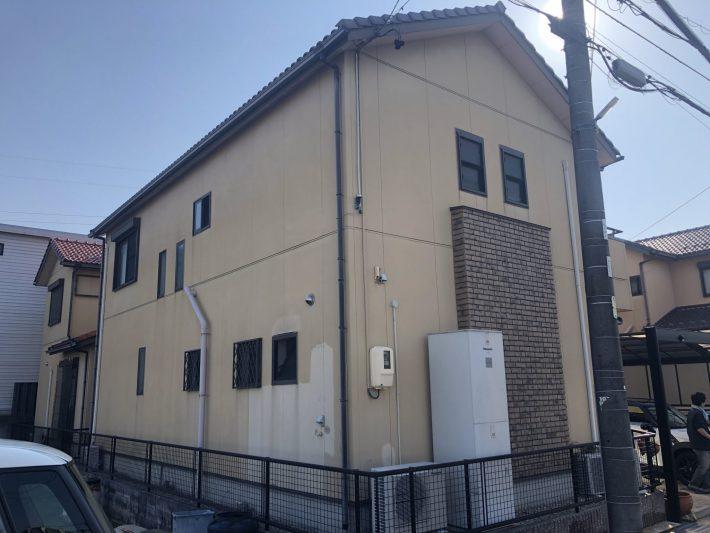 春日井市知多町 U様邸 外壁塗装工事