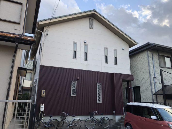 春日井市八田町 W様邸 外壁塗装工事