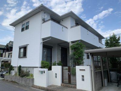 春日井市出川町 I様邸の外壁・屋根塗装のご紹介です。 築11年で初めての塗り替えになります。外壁目...