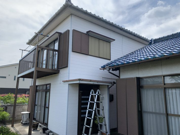 春日井市八田町 N様邸母家・はなれ 外壁・屋根塗装工事