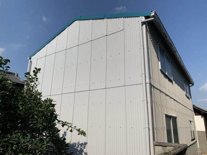 春日井市大手町 O様邸倉庫 屋根・外壁塗装工事