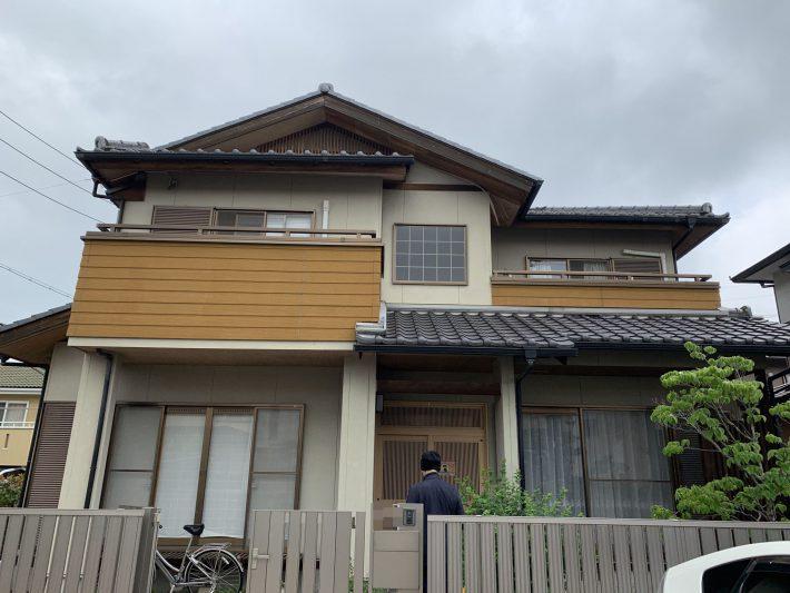 小牧市篠岡 N様邸 外壁塗装・防水工事