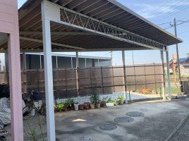 春日井市前並町 S様邸 車庫鉄骨塗装工事の塗装・塗り替え施工実績はこちら