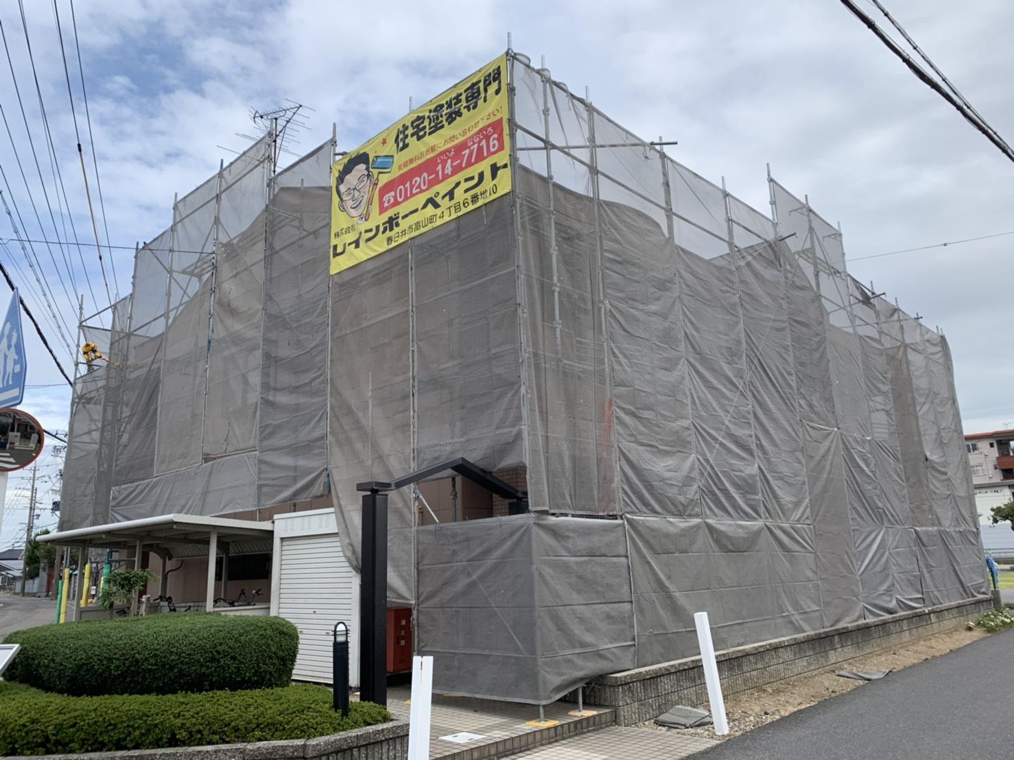 外壁塗装の雨漏り調査