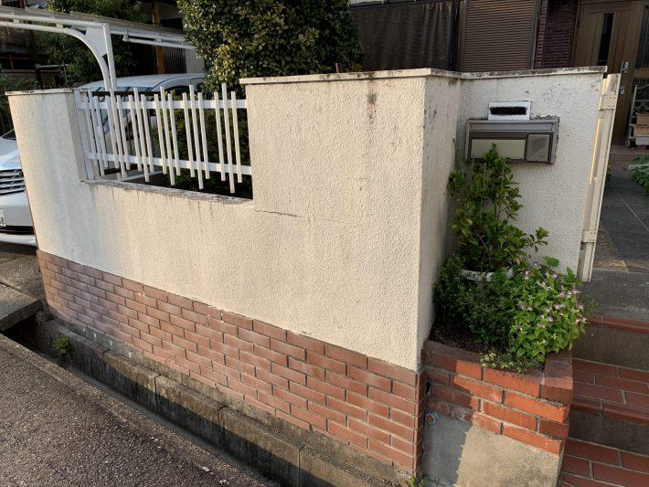 春日井市如意申町 T様邸 外塀塗装工事
