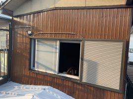 春日井市知多町 S様邸 外壁トタン部分貼替・室内壁塗装工事