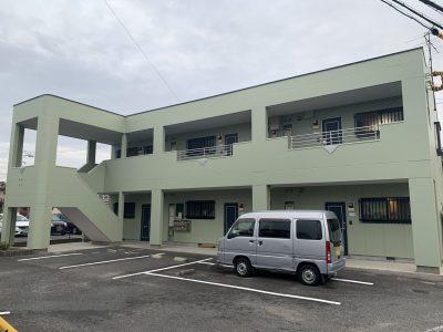 春日井市下市場 N様アパート 外壁・屋根塗装・防水工事のご紹介です。 築22年で2回目の塗り替えに...