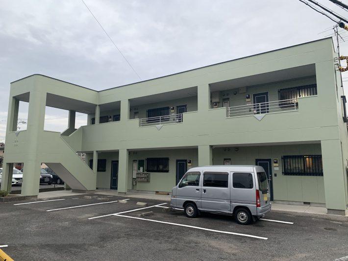春日井市下屋敷町 Nコーポ 外壁・屋根塗装・防水工事