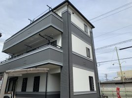 西春日井郡豊山町 A様邸 外壁塗装・屋根カバー工法工事の塗装・塗り替え施工実績はこちら