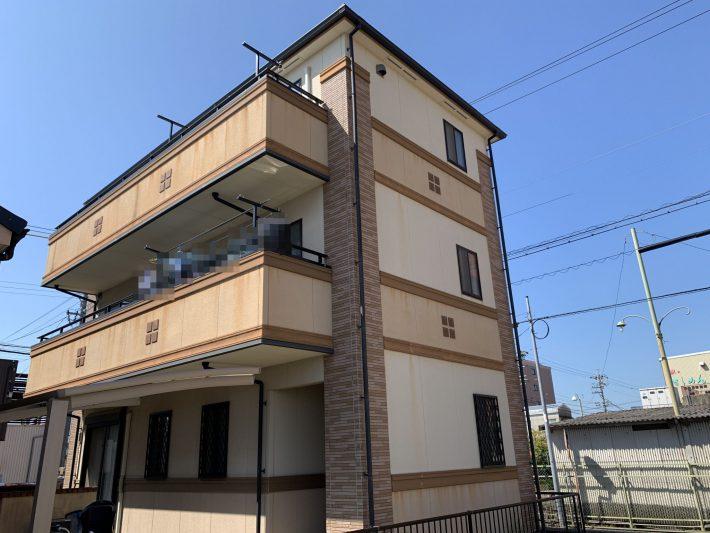 西春日井郡豊山町 A様邸 外壁塗装・屋根カバー工法工事