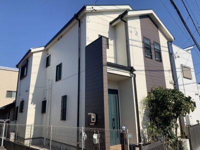 春日井市味美町 H様邸 外壁・屋根塗装工事