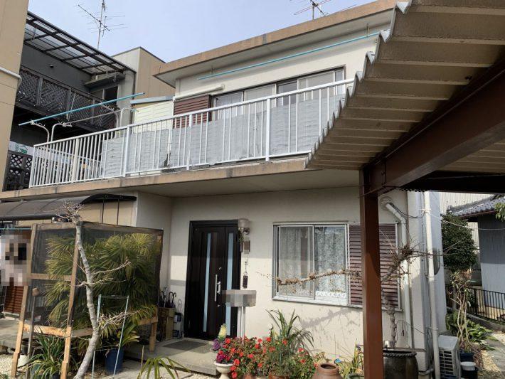 春日井市東野町西 M様邸 外壁塗装・屋上防水工事