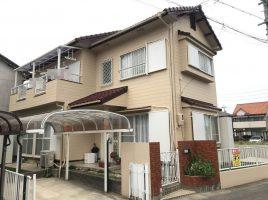 春日井市大手田酉町 M様邸 外壁・屋根塗装工事