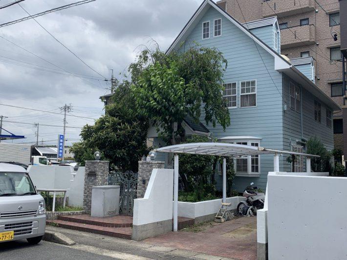 春日井市大手田酉町 W様邸 外壁・屋根塗装・雨樋交換・他工事