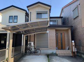 小牧市中央 T様邸 外壁・屋根塗装・防水工事の塗装・塗り替え施工実績はこちら