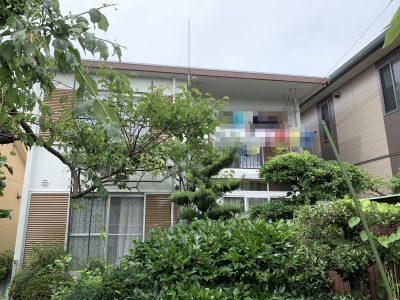 春日井市東野町西 I様邸 外壁塗装・屋上防水のご紹介です。築40年で3回目の塗り替えになります。外...