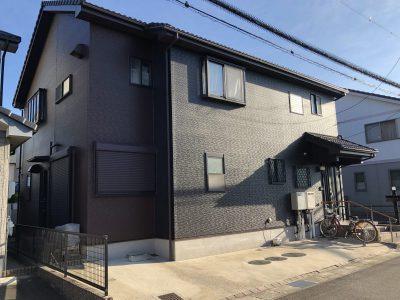 春日井市上田楽町 T様邸の外壁塗装のご紹介です。 築18年で初めての塗り替えになります。ハイセンス...