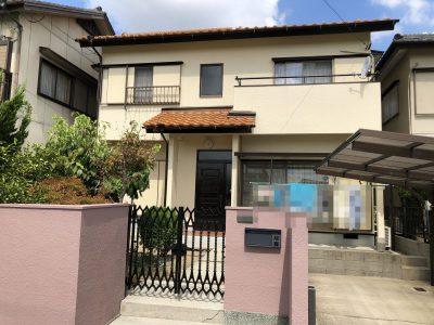 春日井市 大手田酉町 H様邸の外壁塗装のご紹介です。 築35年で2回目の塗り替えになります。以前の...