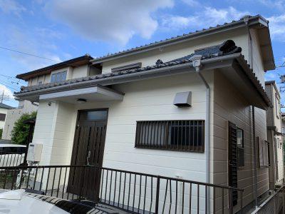 春日井市朝宮町 K様邸の外壁塗装のご紹介です。 築25年で初めての塗り替えになります。明るくなりま...