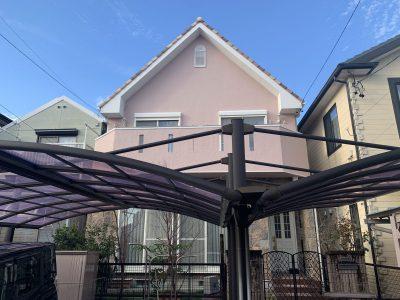 春日井市西高山町 M様邸の外壁塗装のご紹介です。 築18年で初めての塗り替えになります。現状のイメ...