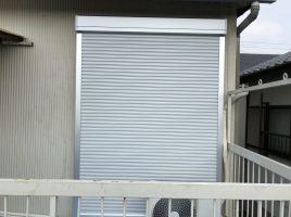 春日井市六軒屋町 T様邸 後付け防災シャッター