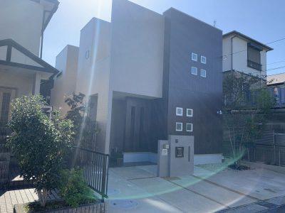 春日井市堀ノ内町 I様邸の外壁塗装のご紹介です。 築12年で初めての塗り替えになります。施工する前...