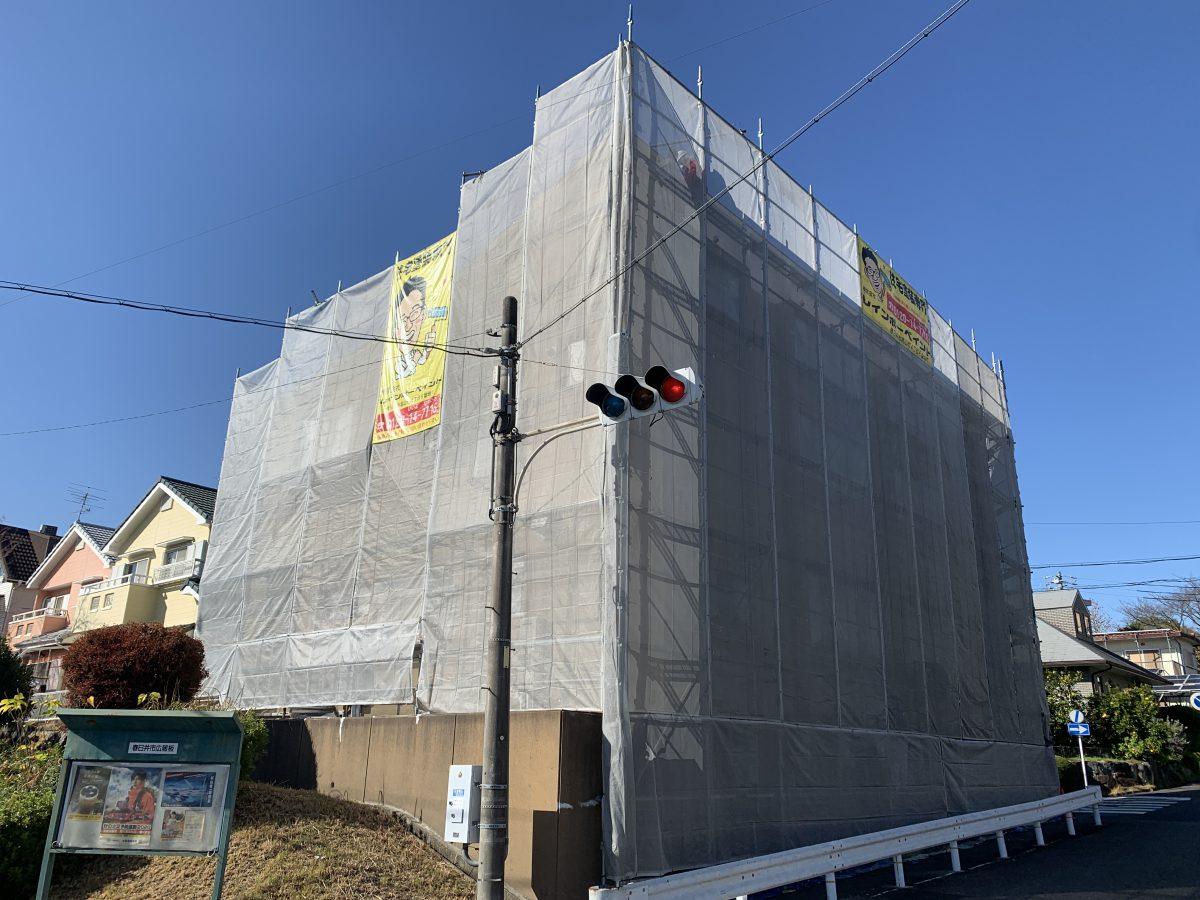 RC造(鉄筋コンクリート造)の外壁塗装