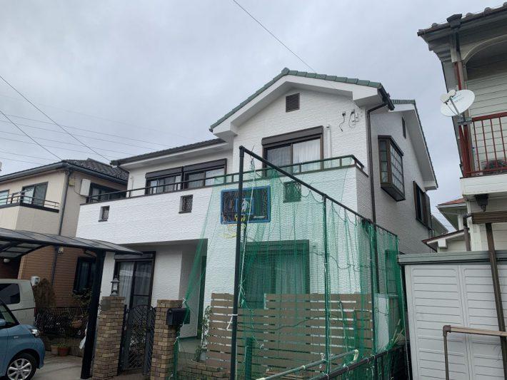 春日井市稲口町 O様邸 外壁塗装工事