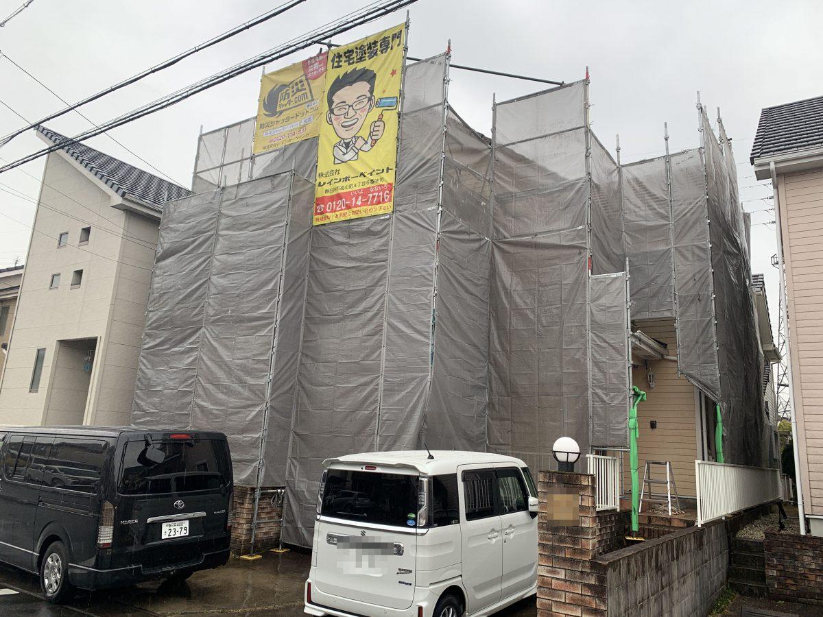 春日井市牛山町の外壁塗装📸