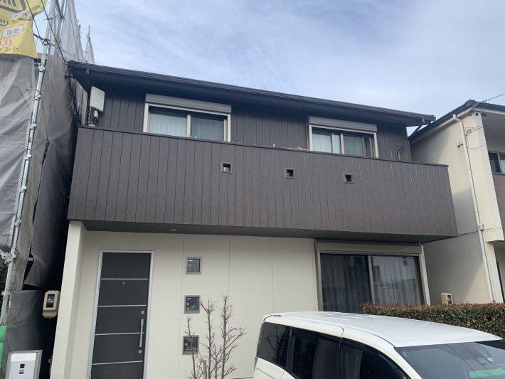 春日井市 八幡町 M様邸 外壁・屋根塗装工事、シャッター取付工事