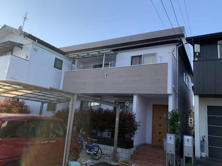 春日井市八幡町 H様邸 外壁・屋根塗装工事