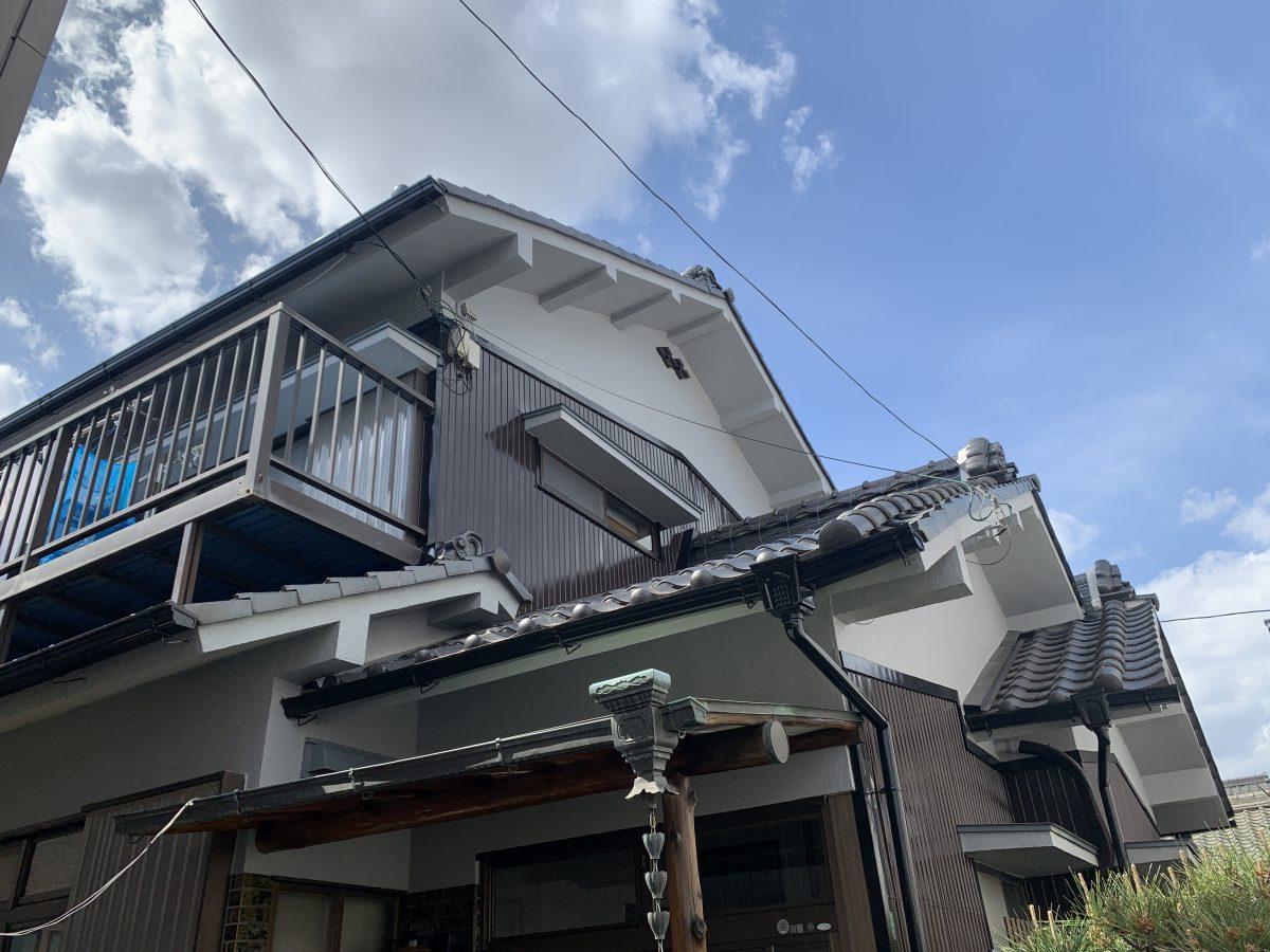 春日井市旭町 K様邸 外壁塗装・屋根補修工事
