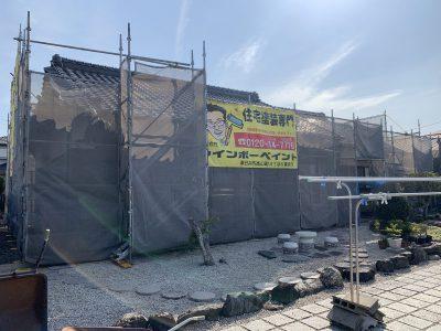 春日井市南下原町の外壁塗装工事