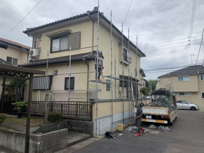 春日井市八田町 S様邸 外壁塗装・リフォーム工事📸